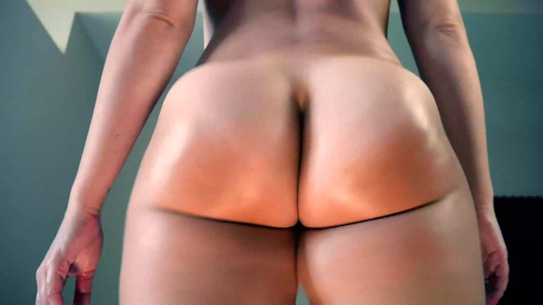 Ashley Alban slow motion pawg